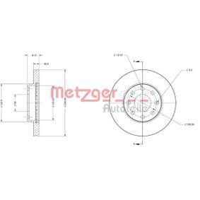 Bremsscheibe Bremsscheibendicke: 20mm, Lochanzahl: 6, Ø: 235,8mm mit OEM-Nummer 90 008 006