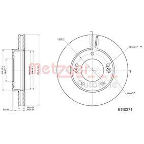 2013 KIA Sorento jc 2.5 CRDi Brake Disc 6110271