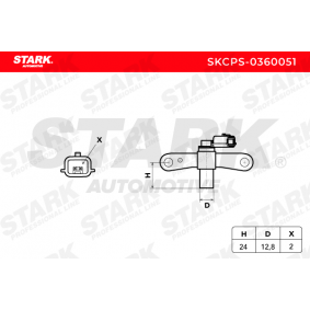 Renault Kangoo kc01 1.6 16V bivalent Motorelektrik STARK SKCPS-0360051 (1.6 16V bivalent Benzin/Erdgas (CNG) 2007 K4M 850)