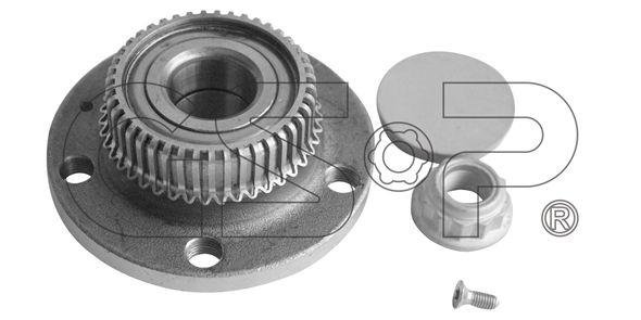 GSP  9230051K Juego de cojinete de rueda Ø: 120mm, Diám. int.: 30mm