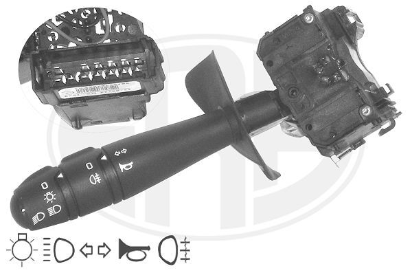 ERA  440535 Steering Column Switch Number of connectors: 13, with high beam function, with horn, with indicator function, with light dimmer function, with rear fog light function