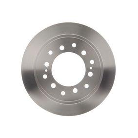 Disque de frein Épaisseur du disque de frein: 18mm, Nbre de trous: 6, Ø: 312,2mm avec OEM numéro 42431-60200