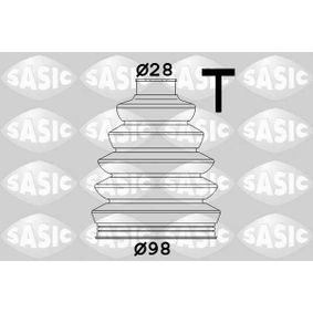 SASIC Faltenbalgsatz, Antriebswelle 1906028 für AUDI A4 Cabriolet (8H7, B6, 8HE, B7) 3.2 FSI ab Baujahr 01.2006, 255 PS