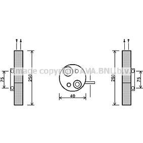 Trockner, Klimaanlage RTD455 TWINGO 2 (CN0) 1.2 Bj 2020