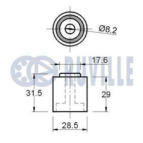 Radlagersatz Innendurchmesser: 32,00mm mit OEM-Nummer 3G0 598 611A
