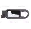 Maneta exterior BLIC 8169489 Delante, izquierda, interior, cromo/negro