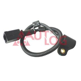 Sensor, posición arbol de levas Número de conexiones: 3, Long. cable: 340mm con OEM número 045.957.147 A