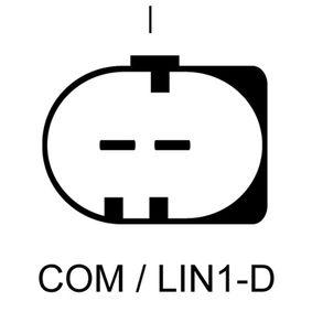 Lichtmaschine Rippenanzahl: 5 mit OEM-Nummer 30667119