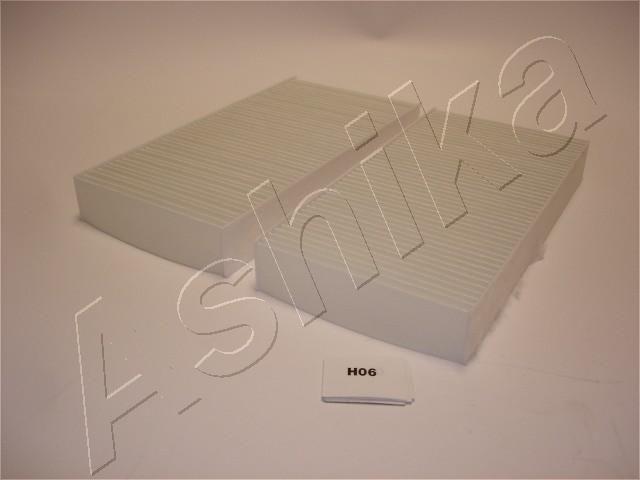 ASHIKA  21-H0-H06 Filter, Innenraumluft Länge: 111mm, Breite: 225mm, Höhe: 29mm