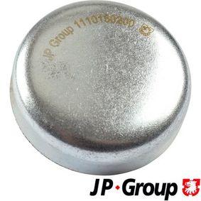 JP GROUP Froststopfen 1110150200 für AUDI COUPE (89, 8B) 2.3 quattro ab Baujahr 05.1990, 134 PS