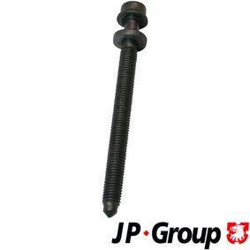 Zylinderschrauben für VW GOLF IV (1J1) 1.6 100 PS ab Baujahr 08.1997 JP GROUP Zylinderkopfschraube (1111150700) für