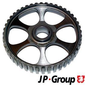 JP GROUP Zahnrad, Nockenwelle 1111250600 für AUDI 80 (81, 85, B2) 1.8 GTE quattro (85Q) ab Baujahr 03.1985, 110 PS
