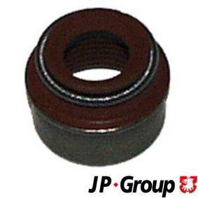 Ventilschaftdichtung für VW TOURAN (1T1, 1T2) 1.9 TDI 105 PS ab Baujahr 08.2003 JP GROUP Dichtring, Ventilschaft (1111352800) für