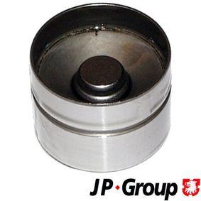 JP GROUP Ventilstößel 1111400800 für AUDI 80 Avant (8C, B4) 2.0 E 16V ab Baujahr 02.1993, 140 PS
