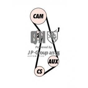JP GROUP Zahnriemensatz 1112106819 für AUDI 80 Avant (8C, B4) 2.0 E 16V ab Baujahr 02.1993, 140 PS