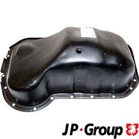 JP GROUP Ölwanne 1112900100 für AUDI 100 (44, 44Q, C3) 1.8 ab Baujahr 02.1986, 88 PS