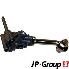 JP GROUP Ölpumpe 1113100200 für AUDI 80 (81, 85, B2) 1.8 GTE quattro (85Q) ab Baujahr 03.1985, 110 PS
