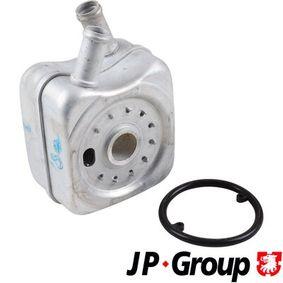 JP GROUP Ölkühler, Motoröl 1113500200 für AUDI A3 (8P1) 1.9 TDI ab Baujahr 05.2003, 105 PS