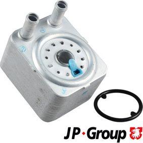 JP GROUP Ölkühler, Motoröl 1113500300 für AUDI A3 (8P1) 1.9 TDI ab Baujahr 05.2003, 105 PS