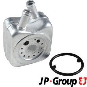 JP GROUP Ölkühler, Motoröl 1113500900 für AUDI A6 (4B2, C5) 2.4 ab Baujahr 07.1998, 136 PS