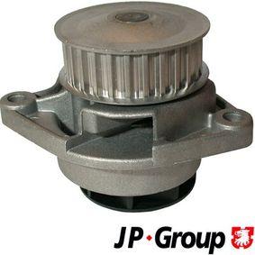 Pompa acqua (1114101200) per per Pompa Acqua VW POLO (6N2) 1.4 dal Anno 10.1999 60 CV di JP GROUP