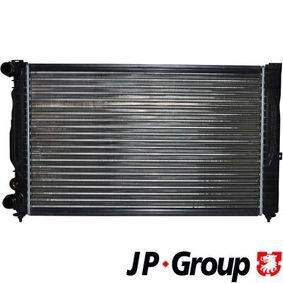 Wasserkühler VW PASSAT Variant (3B6) 1.9 TDI 130 PS ab 11.2000 JP GROUP Kühler, Motorkühlung (1114204700) für