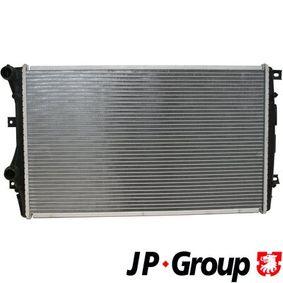 Радиатор, охлаждане на двигателя 1114206100 Golf 5 (1K1) 1.9 TDI Г.П. 2004
