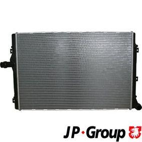 Kühler, Motorkühlung mit OEM-Nummer 1K0.121.251 DD
