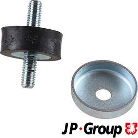 JP GROUP Lagerung, Kühler 1114250500 für AUDI 80 (81, 85, B2) 1.8 GTE quattro (85Q) ab Baujahr 03.1985, 110 PS