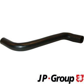 JP GROUP Kühlerschlauch 1114302900 für AUDI 80 (81, 85, B2) 1.8 GTE quattro (85Q) ab Baujahr 03.1985, 110 PS