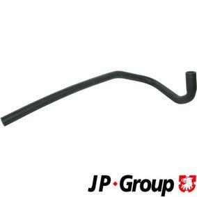JP GROUP Kühlerschlauch 1114304000 für AUDI 80 (81, 85, B2) 1.8 GTE quattro (85Q) ab Baujahr 03.1985, 110 PS
