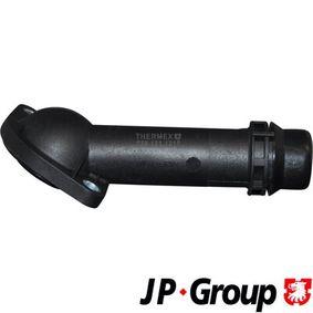 JP GROUP Kühlmittelflansch 1114506000 für AUDI A4 (8D2, B5) 1.9 TDI ab Baujahr 03.2000, 116 PS