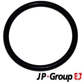 JP GROUP Dichtung, Thermostat 1114650200 für AUDI 80 (8C, B4) 2.8 quattro ab Baujahr 09.1991, 174 PS