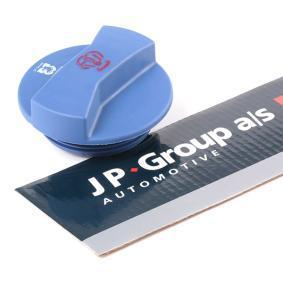JP GROUP Verschlußdeckel, Kühlmittelbehälter 1114800200 für AUDI 80 (8C, B4) 2.8 quattro ab Baujahr 09.1991, 174 PS