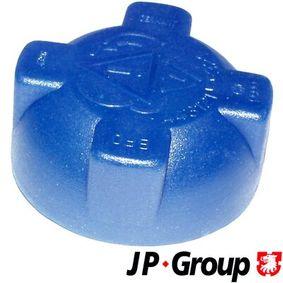 JP GROUP Verschlußdeckel, Kühlmittelbehälter 1114800600 für AUDI 80 (8C, B4) 2.8 quattro ab Baujahr 09.1991, 174 PS