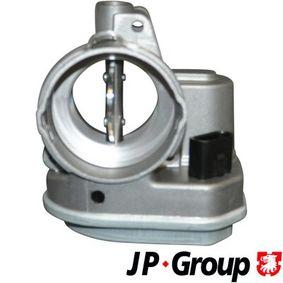 Steuerklappe für VW TOURAN (1T1, 1T2) 1.9 TDI 105 PS ab Baujahr 08.2003 JP GROUP Steuerklappe, Luftversorgung (1115401400) für