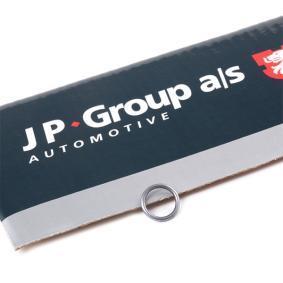 JP GROUP Dichtring, Einspritzventil 1115550900 für AUDI 80 Avant (8C, B4) 2.0 E 16V ab Baujahr 02.1993, 140 PS