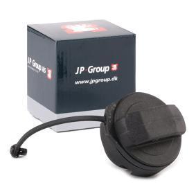 JP GROUP Verschluß, Kraftstoffbehälter 1115650200 für AUDI 90 (89, 89Q, 8A, B3) 2.2 E quattro ab Baujahr 04.1987, 136 PS
