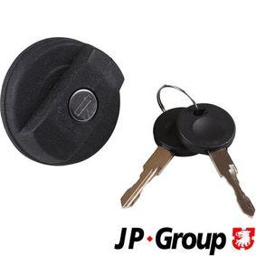 JP GROUP Verschluß, Kraftstoffbehälter 1115650800 für AUDI 80 (81, 85, B2) 1.8 GTE quattro (85Q) ab Baujahr 03.1985, 110 PS