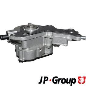JP GROUP Unterdruckpumpe, Bremsanlage 1117100800 für AUDI A4 (8E2, B6) 1.9 TDI ab Baujahr 11.2000, 130 PS