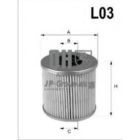 Ölfilter Ø: 84mm, Innendurchmesser 2: 23mm, Innendurchmesser 2: 30mm, Höhe: 106mm mit OEM-Nummer 021115562