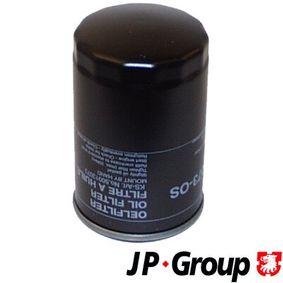 JP GROUP  1118501300 Ölfilter Ø: 76mm, Innendurchmesser 2: 62mm, Innendurchmesser 2: 71mm, Höhe: 123mm