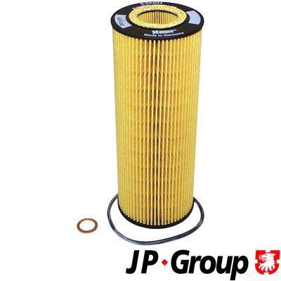 JP GROUP  1118501400 Ölfilter Ø: 73mm, Innendurchmesser 2: 32mm, Innendurchmesser 2: 35mm, Höhe: 197mm