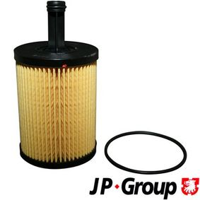 JP GROUP Ölfilter 1118502200 für AUDI A3 (8P1) 1.9 TDI ab Baujahr 05.2003, 105 PS