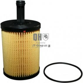 Oil Filter Outer diameter 2: 15,2mm, Inner Diameter: 33mm, Height: 141mm with OEM Number 1250679