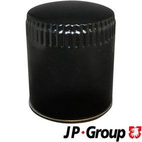 JP GROUP Ölfilter 1118502500 für AUDI 80 (8C, B4) 2.8 quattro ab Baujahr 09.1991, 174 PS
