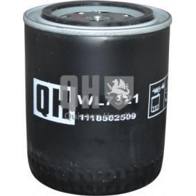 JP GROUP Ölfilter 1118502509 für AUDI 80 (8C, B4) 2.8 quattro ab Baujahr 09.1991, 174 PS