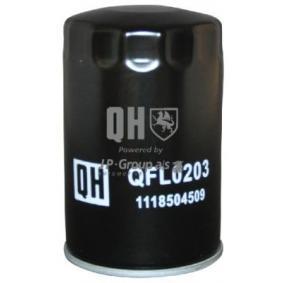 Oil Filter Ø: 76mm, Inner Diameter 2: 62mm, Inner Diameter 2: 71mm, Height: 123mm with OEM Number 1JM 115 561BZ