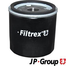 Ölfilter Ø: 108mm, Innendurchmesser 2: 62mm, Innendurchmesser 2: 71mm, Höhe: 135mm mit OEM-Nummer 90915 TB001