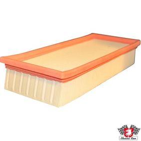 JP GROUP Luftfilter 1118601900 für AUDI COUPE (89, 8B) 2.3 quattro ab Baujahr 05.1990, 134 PS